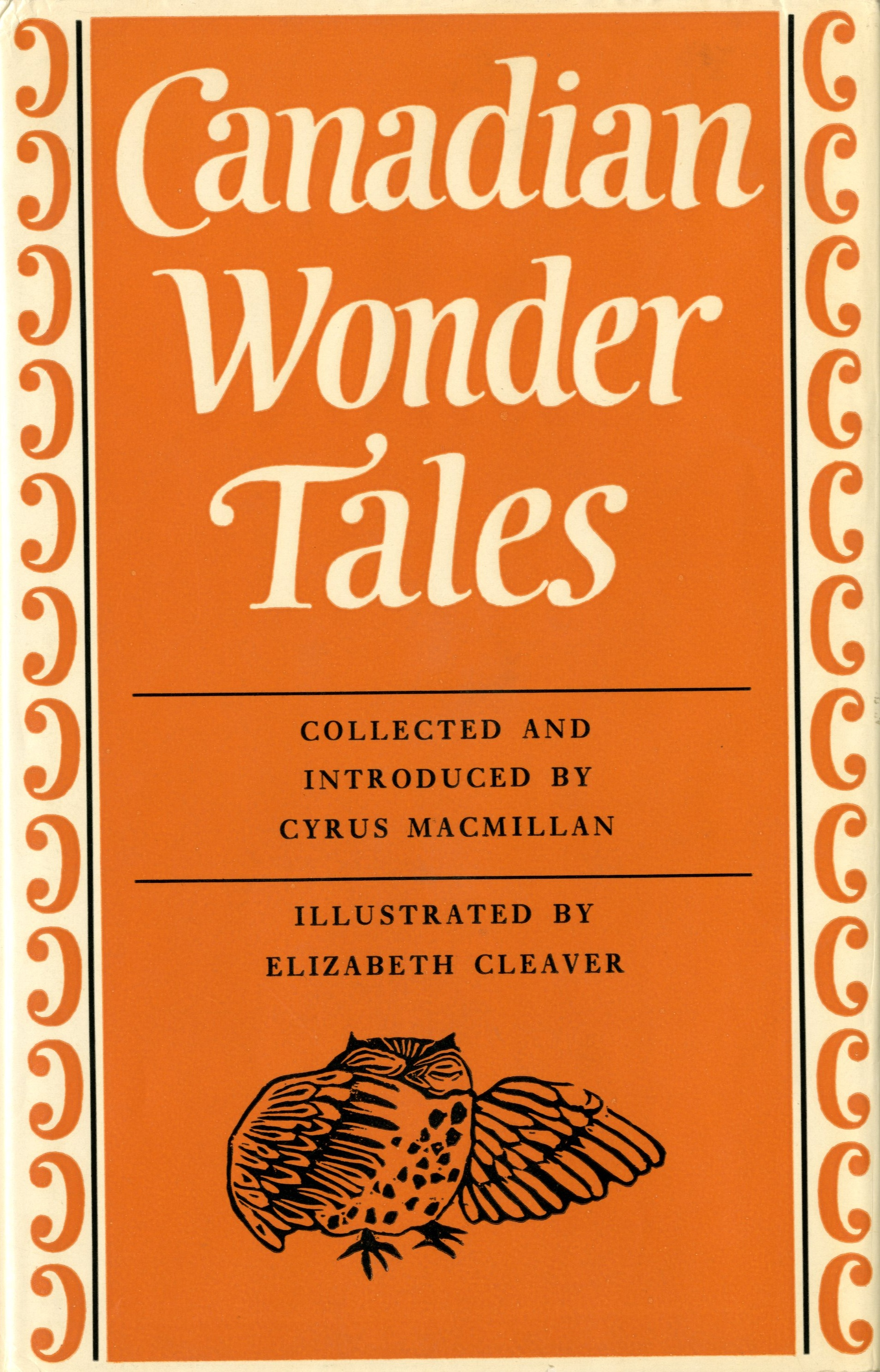 <em> Canadian Wonder Tales </em> cover page